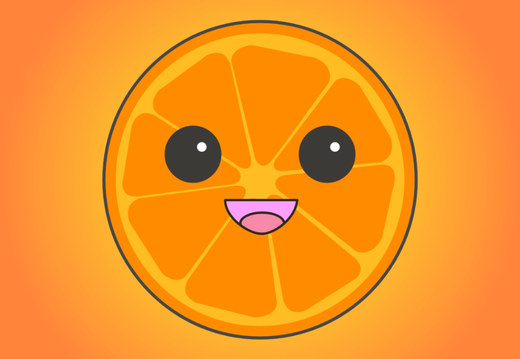 Kawaii Orange