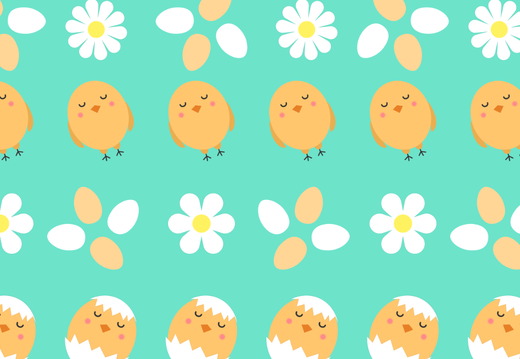 Chicken egg pattern