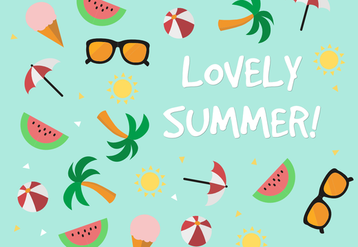 Lovely summer wallpaper