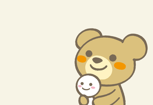 Rainbow bear wallpaper