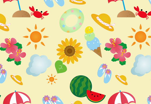 Summer stuff pattern